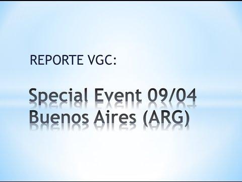 [Reporte VGC] Special Event Argentina 09/04 - Top 8