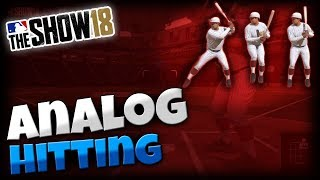 MLB The Show 18 | Guide to Pure Analog Hitting