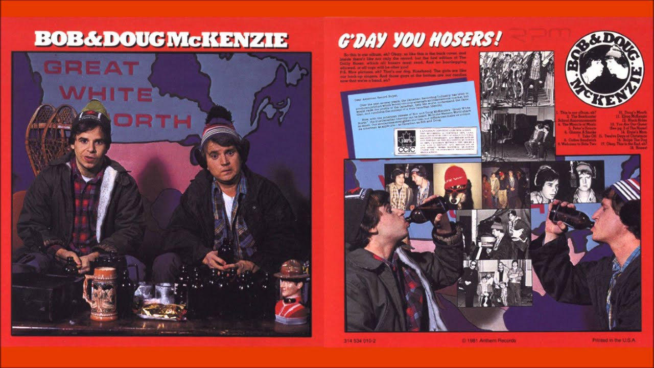 Bob & Doug McKenzie Great White North Album - YouTube
