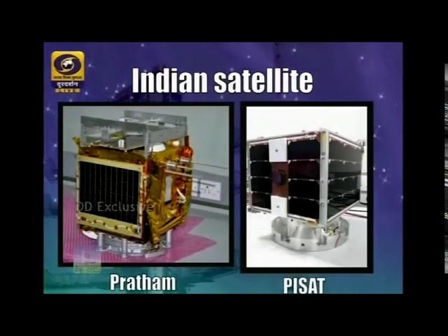 IGNITING YOUNG MINDS Pratham satellite Launching