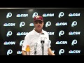 #Redskins head coach Jay Gruden speaks to media after game vs. Bucs.