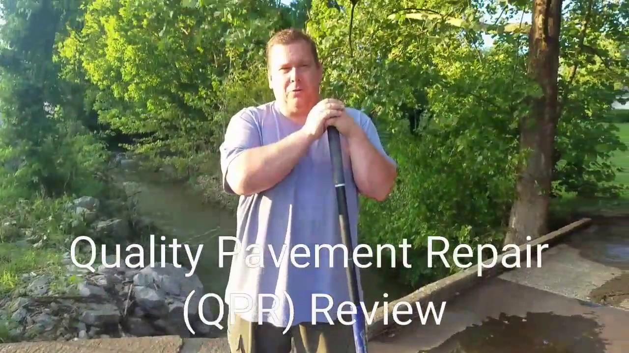 Qpr 50lb bags | quality pavement repair (qpr).