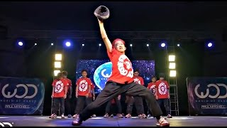 Парни из Японии срубили зал на повал своими танцами