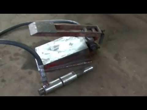Гидравлический домкрат с цилиндром б/у . BODY REPAIR . special tooling