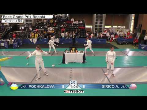 FE F E Individual Bogota COL Grand Prix 2017 T64 18 blue SIRICO USA vs POCHKALOVA UKR