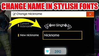 Download Free Fire Your Nickname Change Style Font Edit And Rename