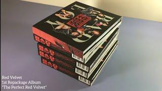 Unboxing Red Velvet 레드벨벳 1st Repackage Album《The Perfect Red Velvet》(5 Copies)