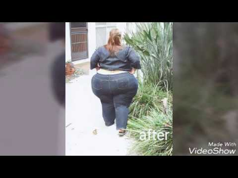 Fat women weight gain before and after