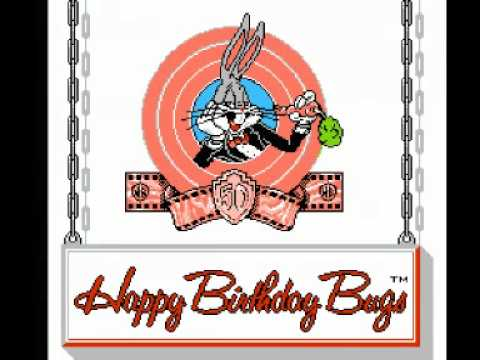 Bugs Bunny Birthday Blowout, The (NES) Music - Stage 04 Rounds
