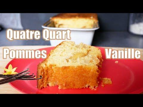 quatre-quart-pommes-vanille-🍏