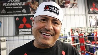 "ROBERT GARCIA ON PAC VS THURMAN ""HARD FIGHT FOR PAC, HE'S NOT AFRAID OF NOBODY!"""
