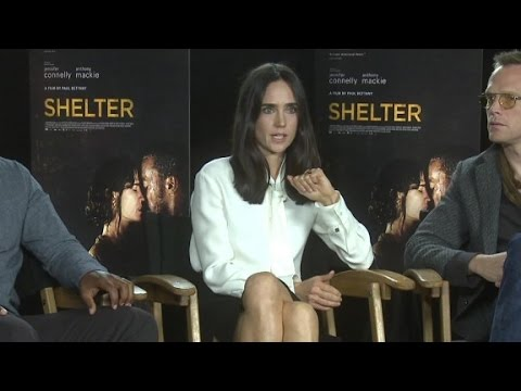 Download Jennifer Connelly and Anthony Mackie talk 'Shelter...