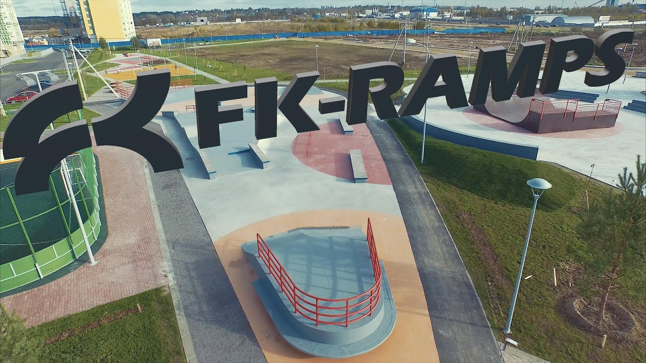FK-ramps - Проектирование и Строительство Скейт-парков - YouTube .
