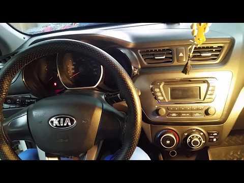 KIA Rio установка и подключение USB к штатной магнитолле
