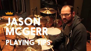 Jason McGerr of Death Cab for Cutie gives Playing Tips