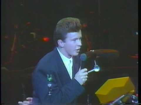 Rick Astley - Never Gonna Give You Up (Live 1987)