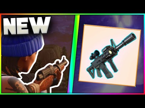 """Tactical Assault Rifle"" & ""FN P90"" In Fortnite Battle Royale! 