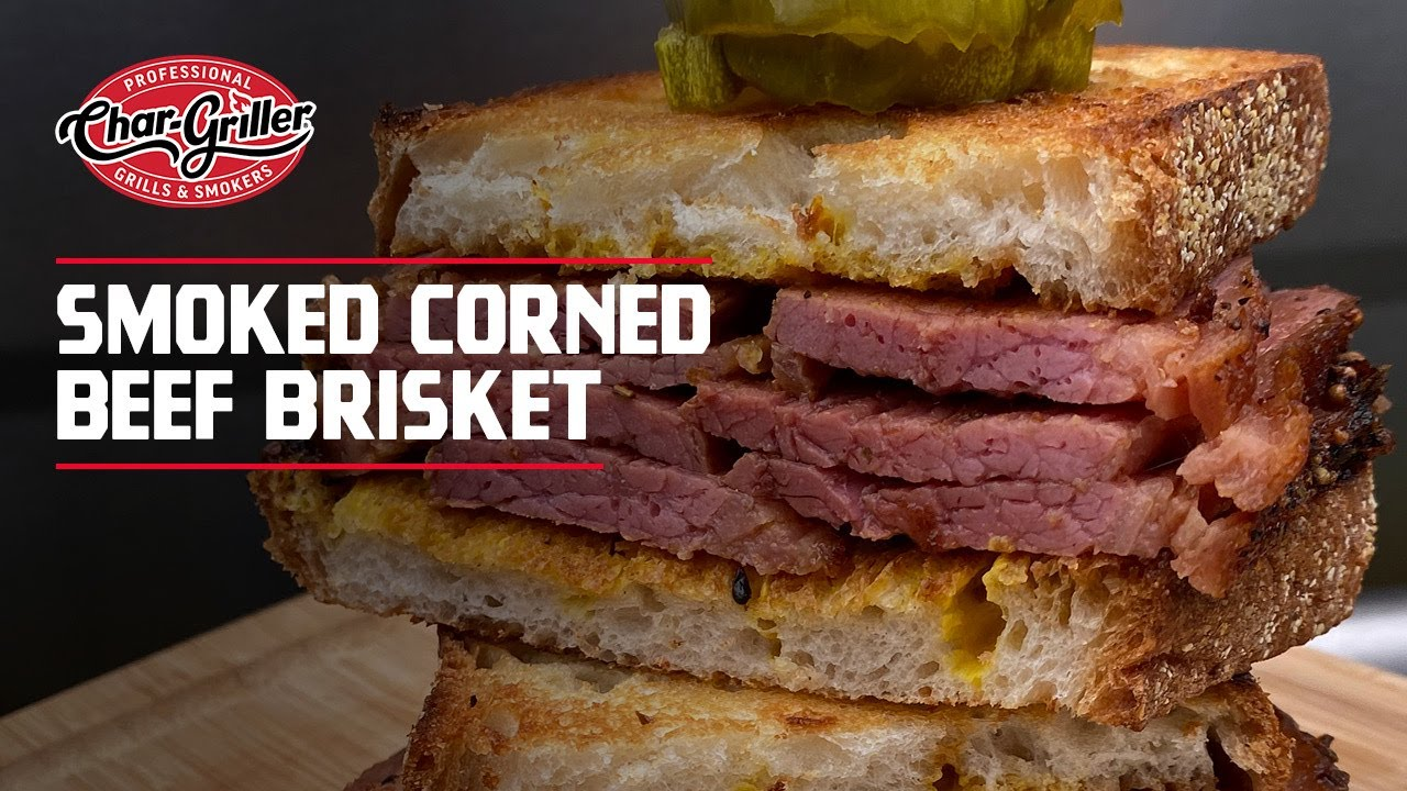 Smoked Corned Beef Brisket Youtube