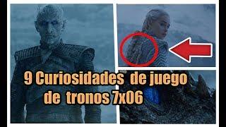 """9 Curiosidades / Errores de Juegos de tronos 7x06 """"MAS ALLA DEL MURO"""""""