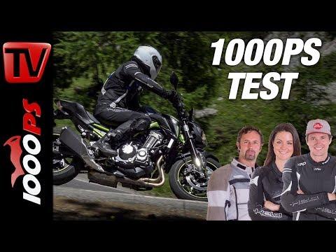 Kawasaki Z900 2018 Test - Auch in den Bergen richtig gut?