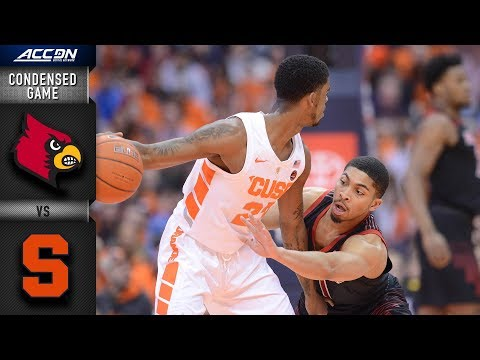 Louisville  vs. Syracuse Condensed Game | 2018-19 ACC Basketball