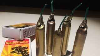 How to make the world's loudest firecracker with matches