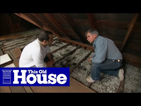 How To Beef Up Attic Insulation This Old House Youtube