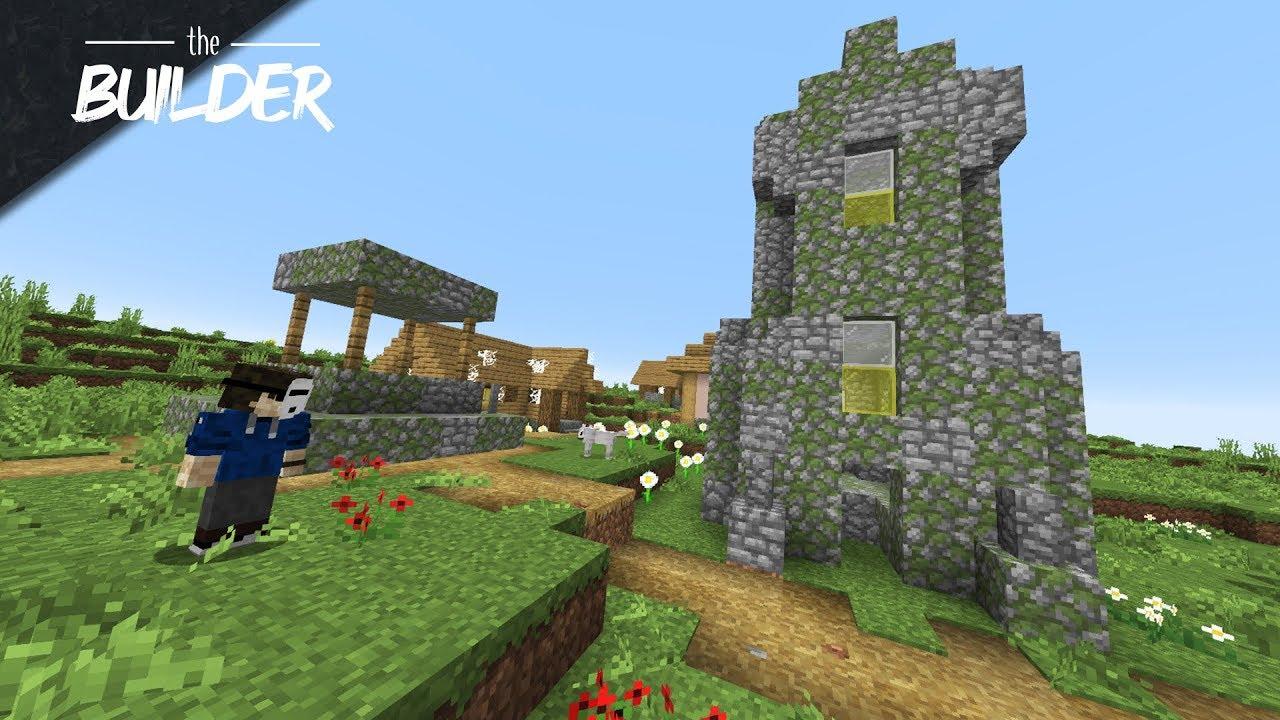 We Found a Deserted Village! - The Builder