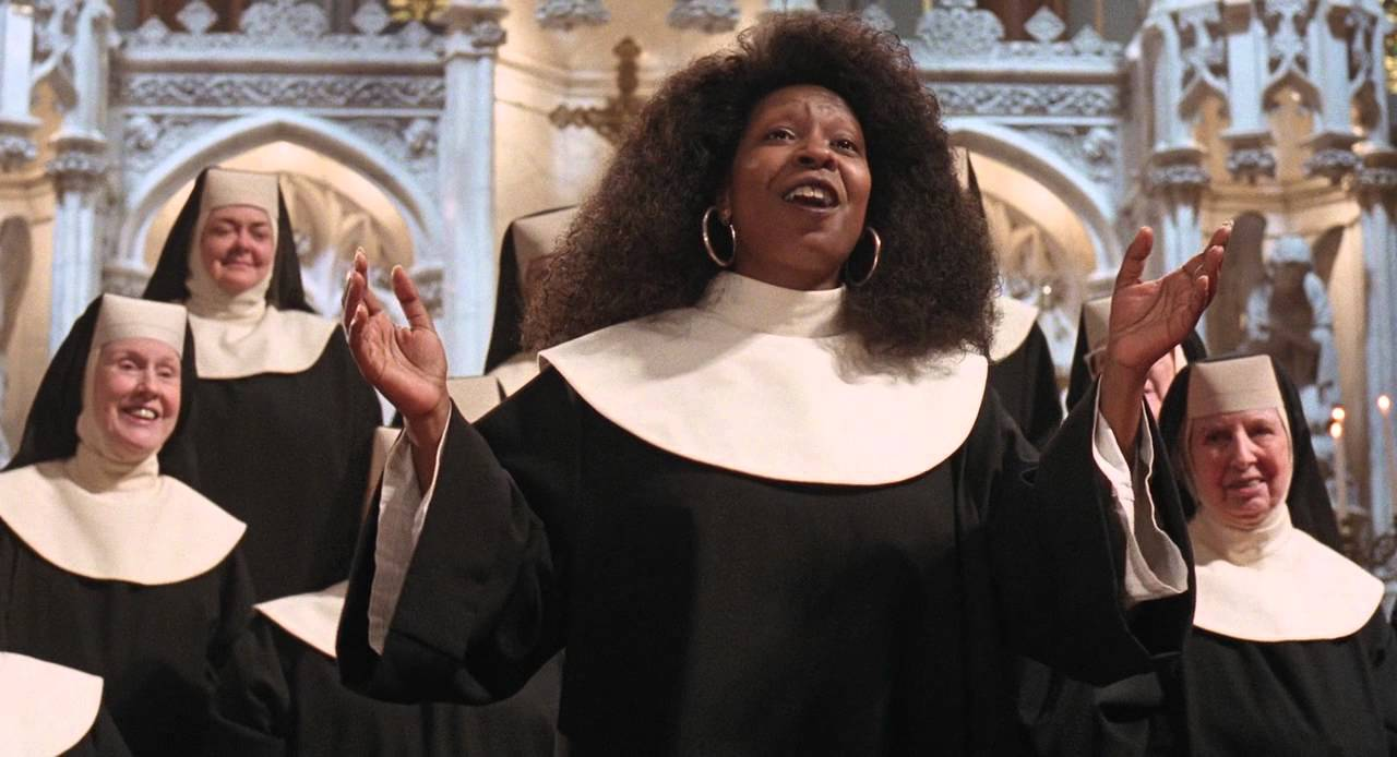 Sister act - I will follow him (HD) (with lyric) - YouTube