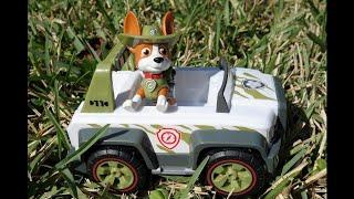 Paw Patrol NEW Puppy, Tracker! Новый щенок. Встречаем Трекера, щенячий патруль. Все серии подряд(, 2018-04-01T14:59:01.000Z)