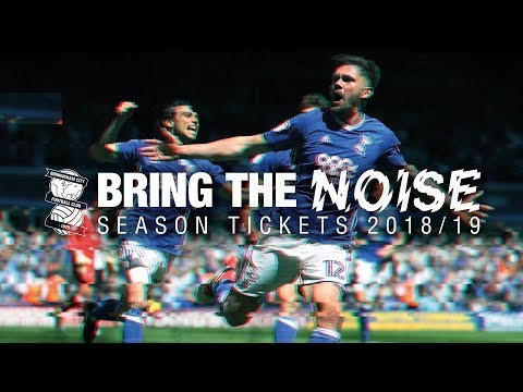 Season Tickets 2018/19 are now on sale! | Bring The Noise!