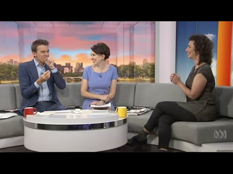 ABC TV News Breakfast - Dani Valent chats Japanese cuisine