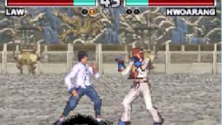 Best GBA Games - Tekken Advance