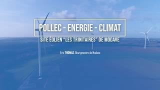 """POLLEC - Site éolien """"Les Trinitaires"""" de Modave"""