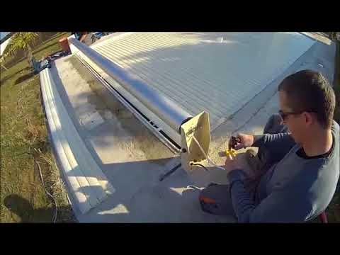 Comment Monter Son Volet Hors Sol Electrique De Piscine Youtube