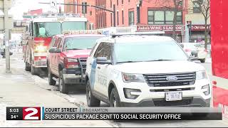 Police: Suspicious package delivered to Social Security office in Utica