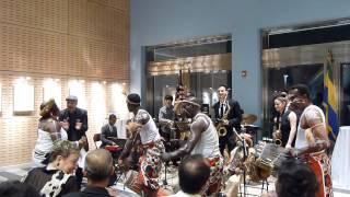 Berklee Global Jazz Institute in Libreville - May 2014: Concert with Gabonese Musicians