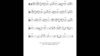 Free viola sheet music, Fur Elise