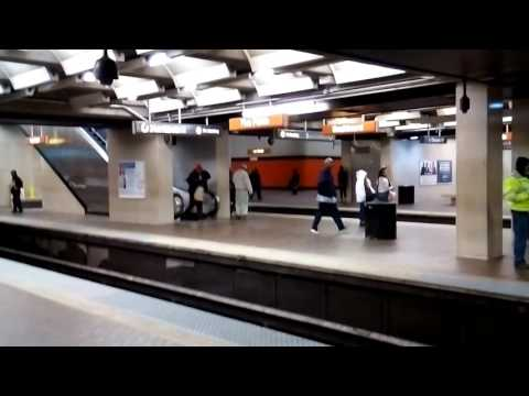 MARTA Train at 5 Points Station on March 13, 2017-part 3
