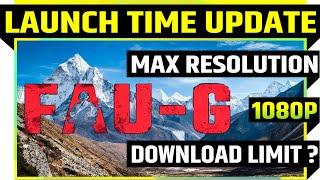 FAU-G LAUNCH TIME UPDATE | Faug akshay kumar gameplay | faug game trailer | faug new game download