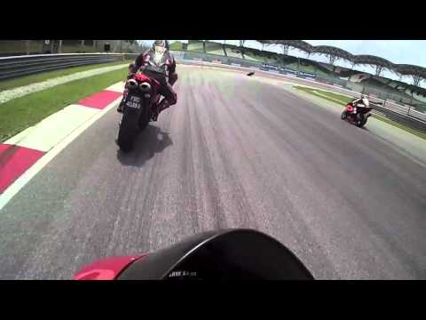 21-09-12 Sepang First Session With JC Erne