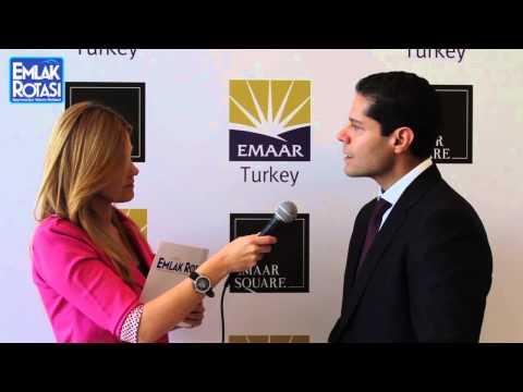Emaar Türkiye CEO'su Ozan Balaban ile Emaar Square röportajı