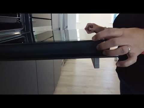AEG / Electrolux / Zanussi - Oven glass door cleaning - V1 0