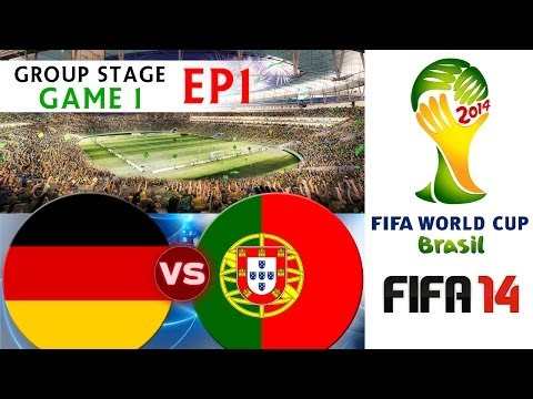 TTB 2014 FIFA World Cup Brazil  Germany Vs Portugal  Group Stage Game 1  EP1