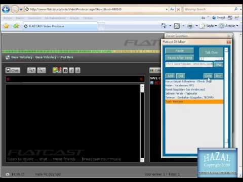 Flatcast Radyoda Yayın yapmak