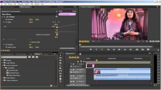 Добавление титров, Видеоурок № 3, Adobe Premiere Pro CS6, 28.02.2014