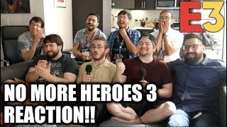 REACTION: No More Heroes 3 ANNOUNCEMENT! - E3 2019 Direct