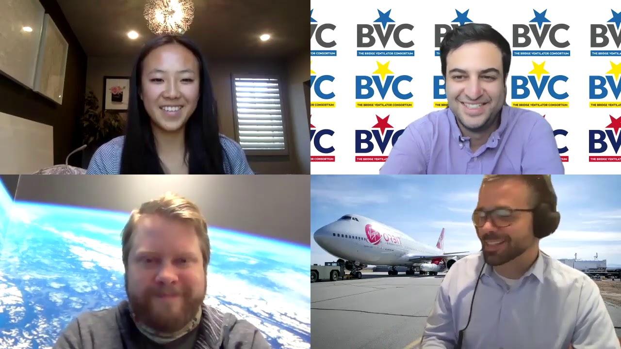 Interview with Virgin Orbit on Ventilators!