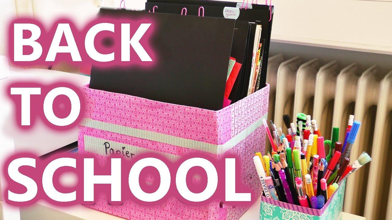 Schreibtisch ordnungssystem selber bauen - Hangeaufbewahrung kinderzimmer ...