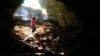 Нижегородская область - Ичалковский бор - карстовые пещеры
